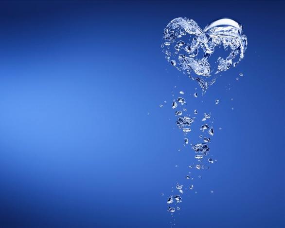 water-heart-valentine-day-wallpaper